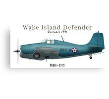 Wake Island Defender Canvas Print