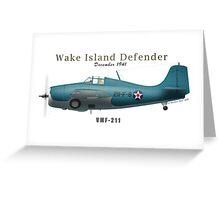 Wake Island Defender Greeting Card