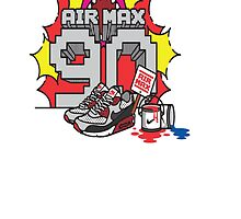 Nike Air Max 90 by CJRDesign