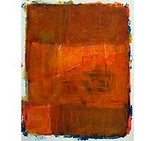Orange Composition  Photographic Print
