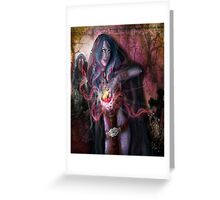 The Wrath of the Warlock Greeting Card