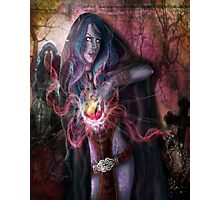 The Wrath of the Warlock Photographic Print