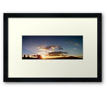 ©TSS The Sun Series XX Framed Print