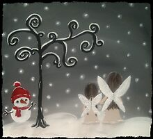 fairiesin the snow by BeckaJane