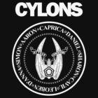 CYLONS (white - hi detail) by cubik