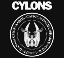 CYLONS (white - hi detail) by cubik