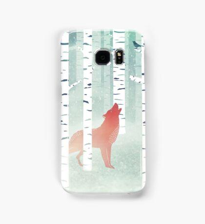 Winter Fox Samsung Galaxy Case/Skin