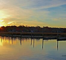 Sunrise at the Marina by Gilda Axelrod