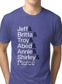 Community Character List Tri-blend T-Shirt