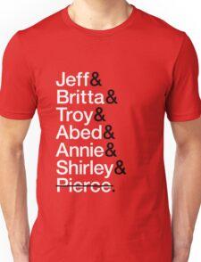 Community Character List Unisex T-Shirt