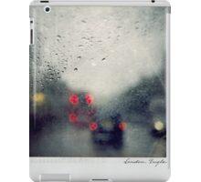 Rain Polaroïd iPad Case/Skin