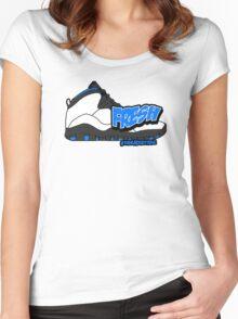 Powder Blue Fresh 10 Women's Fitted Scoop T-Shirt