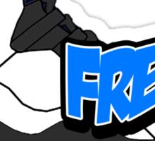 Powder Blue Fresh 10 Sticker