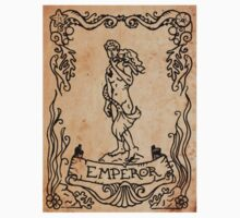 Mermaid Tarot Sticker: Emperor by SophieJewel