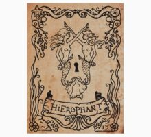 Mermaid Tarot Sticker: Hierophant by SophieJewel