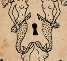 Mermaid Tarot Sticker: Hierophant Sticker