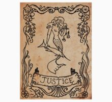 Mermaid Tarot Sticker: Justice by SophieJewel