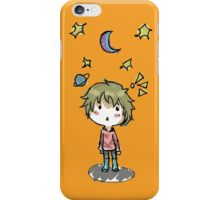 Space kid iPhone Case/Skin