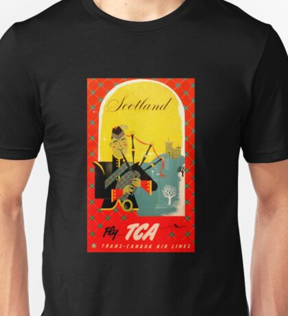 Fly TCA ~ Trans Canada Airlines Unisex T-Shirt