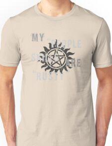 Supernatural Castiel 'People Skills' T-Shirt Unisex T-Shirt