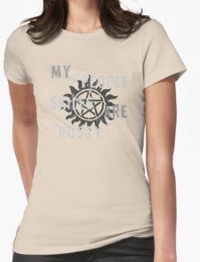 Supernatural Castiel 'People Skills' T-Shirt Womens Fitted T-Shirt