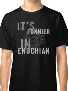 Supernatural Castiel Quote T-Shirt Classic T-Shirt