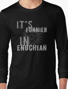 Supernatural Castiel Quote T-Shirt Long Sleeve T-Shirt