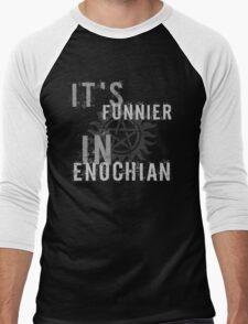 Supernatural Castiel Quote T-Shirt Men's Baseball ¾ T-Shirt