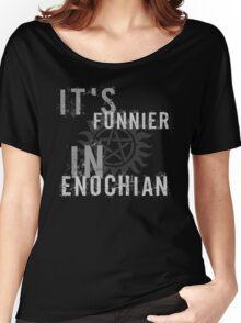 Supernatural Castiel Quote T-Shirt Women's Relaxed Fit T-Shirt
