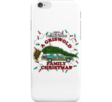 National Lampoon's Christmas Vacation Squirrel Christmas Tree iPhone Case/Skin