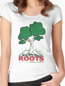 Know Your Roots Women's Fitted Scoop T-Shirt