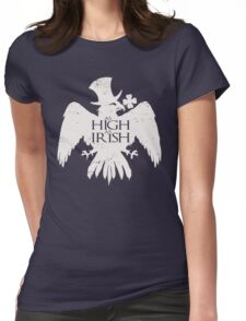 As High As Irish Womens Fitted T-Shirt