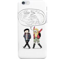 Sam and Astrid iPhone Case/Skin