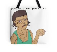 """CAN YOU GEY AWAY FROM ME?"" STRAYA TRAIN STATION - DAMO & DARREN! Tote Bag"