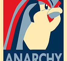 Bird Jesus: Anarchy by kdm1298