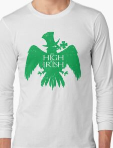 As High As Irish Long Sleeve T-Shirt