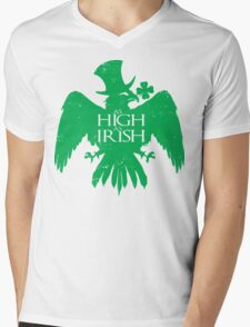 As High As Irish Mens V-Neck T-Shirt