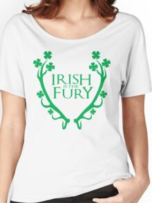 Irish is the fury Women's Relaxed Fit T-Shirt