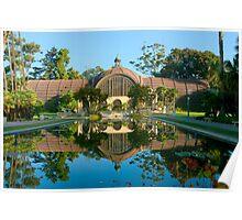 Balboa Park Botanical Building San Diego California Poster