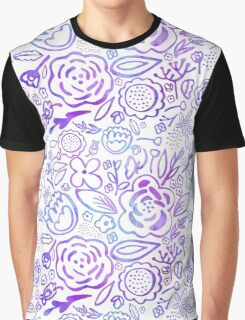 A Profusion of Flowers Graphic T-Shirt