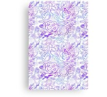 A Profusion of Flowers Canvas Print