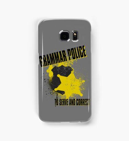 Grammar Police Samsung Galaxy Case/Skin