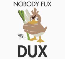 Twitch Plays Pokemon: Nobody Fux With The Dux - Sticker by Twitch Plays Pokemon