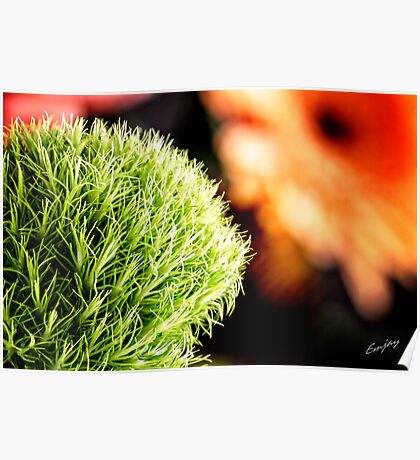 Green Grass Thingy Poster