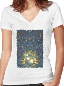Gift From the Void  Women's Fitted V-Neck T-Shirt