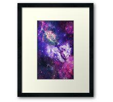 Galaxy Pattern Framed Print