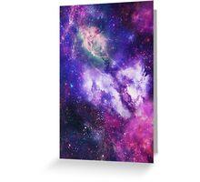Galaxy Pattern Greeting Card