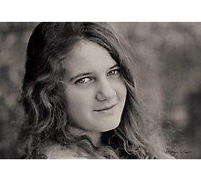 The Smile in Her Eyes Photographic Print