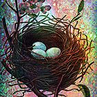 TWILIGHT NESTING by Tammera