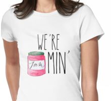 #we're jammin' Womens Fitted T-Shirt